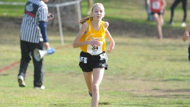 Jordyn Colter finished 4th at the 2012 Foot Locker National XC Championship
