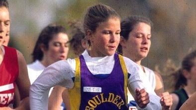 Melody Fairchild won the Colorado State XC Championship in 1989 and 1990 for Boulder High School