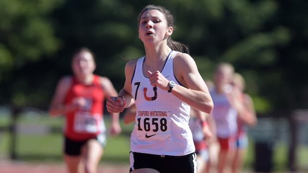Christina Aragon of Billings, Mont. started her stand-out season with a win at the Stanford Invitational.