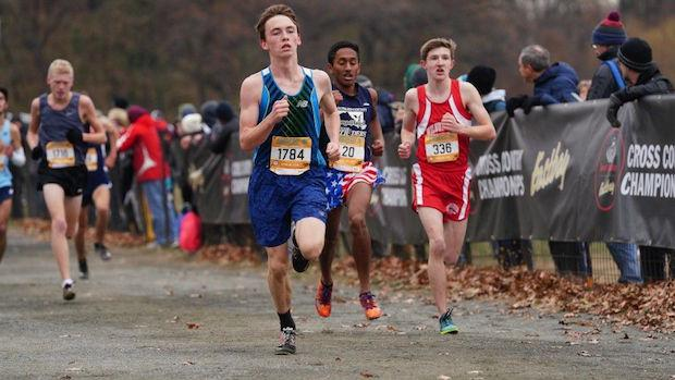 3eb30ce4538d1 Two juniors led the group of Maryland boys racing at the Foot Locker  Northeast Regional with Bel Air s Caleb Zylka in 28th place with a time of  16 18 and ...