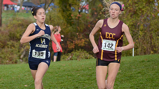 Her Day Was Running Away From Defending Class A Champion And 2012 Foot Locker Finalist Kennedy Weisner Of Elk County Catholic Abdalahs 1824 Made